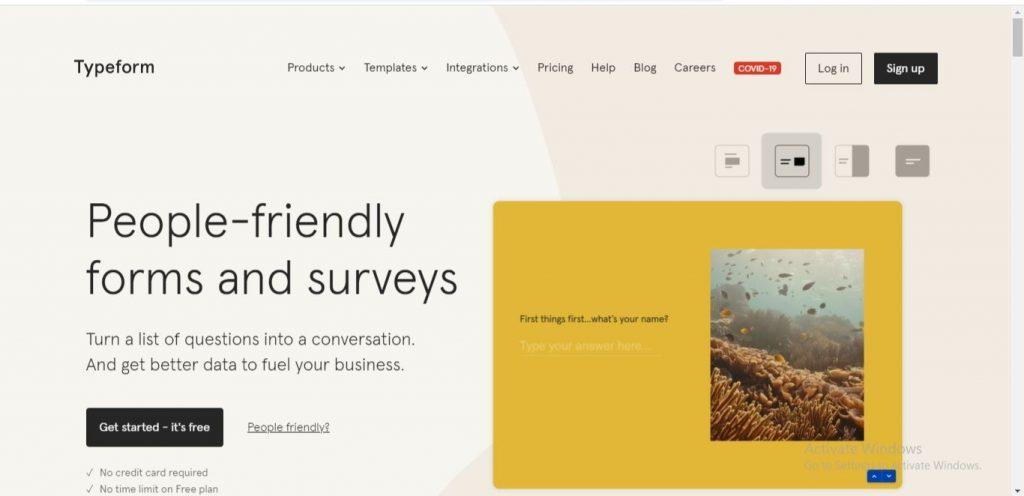 SurveyMonkey Vs Typeform